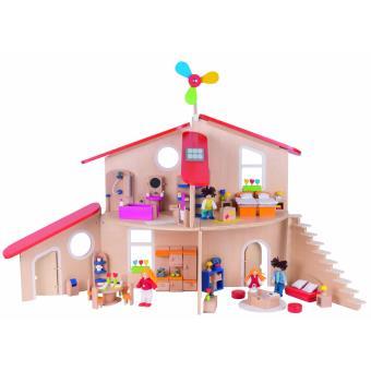 maison de poupées écologique johanna maison de poupée soyez le