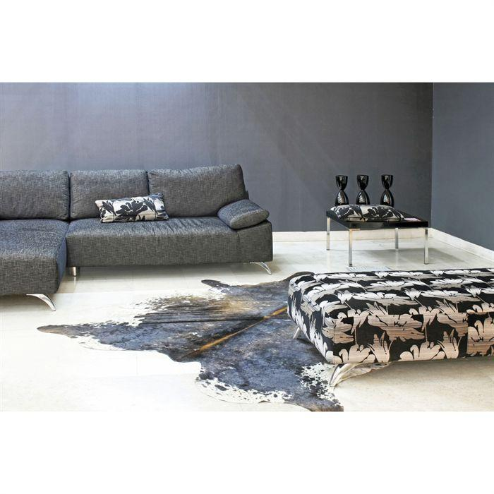 tapis en peau de vache topiwall. Black Bedroom Furniture Sets. Home Design Ideas