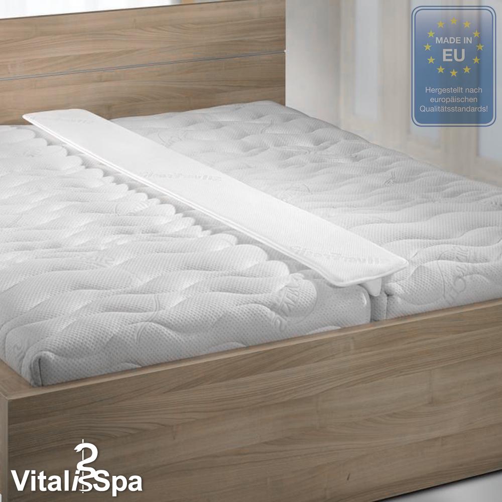 VitaliSpa® pont de matelas Pont Amour pour lit double pont d'amour
