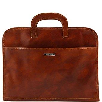Tuscany Leather Serviette Porte documents en cuir Miel Homme