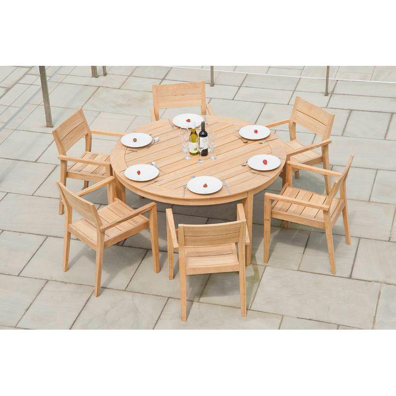Jardin Salon de jardin Ensemble table, chaise de jardin
