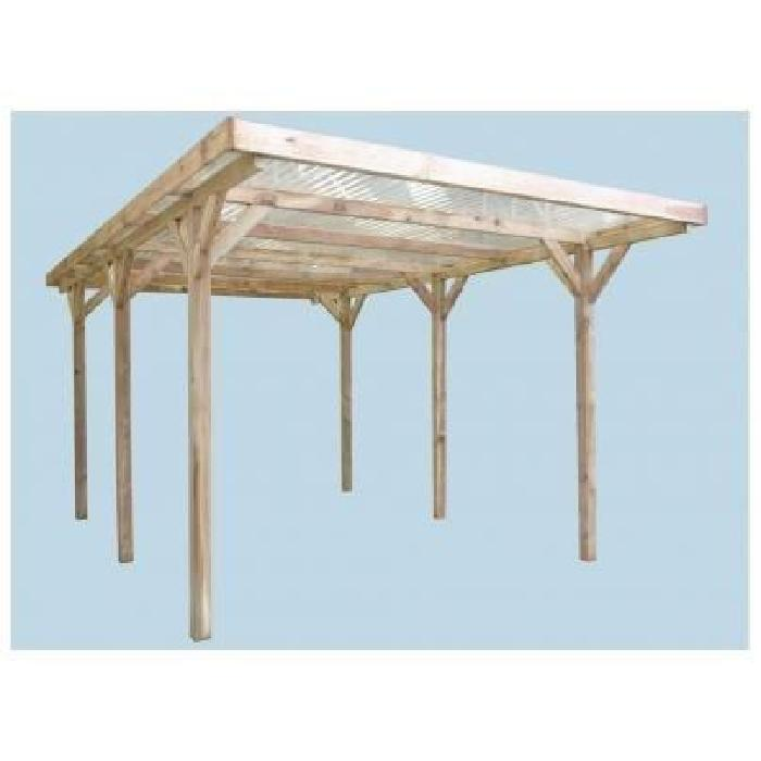 en bois traité classe III surface Achat / Vente carport Carport