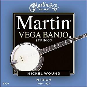 Martin V 730 Jeu de 5 Cordes pour Banjo medium: Instruments