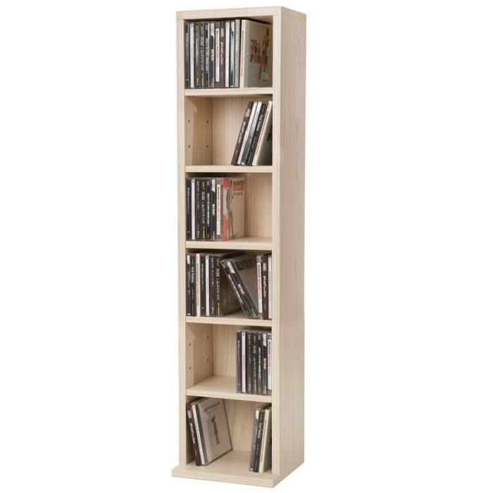 Achat / Vente meuble range cd Meuble Range CD DVD, 5 Étag
