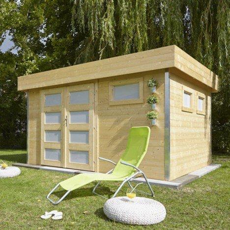 Abri de jardin bois Comfy Ep.28 mm |