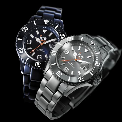 ICE Watch Montre Mixte Quartz Analogique Ice Alu Deep purple