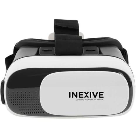 INEXIVE Casque VR HEADSET Noir Réalité virtuel Pour téléphone