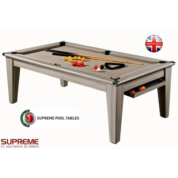 Billard Pool York 7ft Bois Flotté Achat / Vente billard