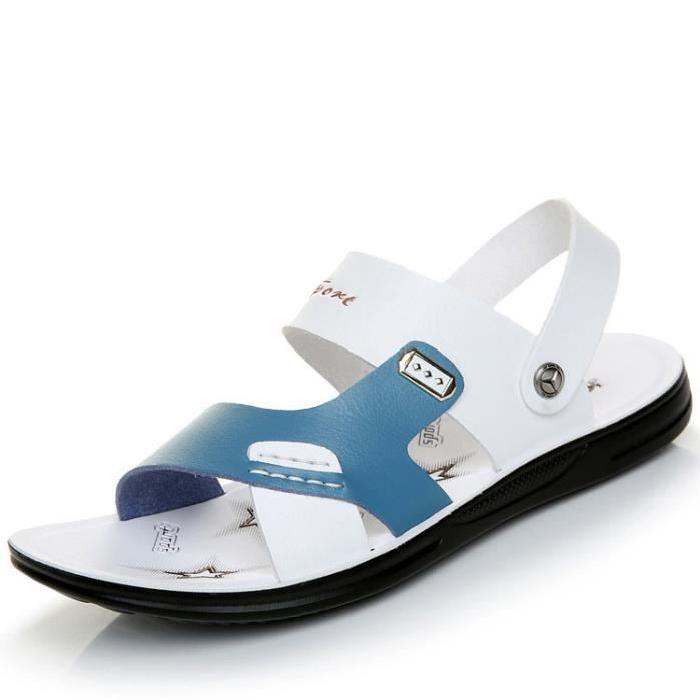 Sandale Nu Pieds | Hommes mode sandales en cuir?Ces sandales ultra