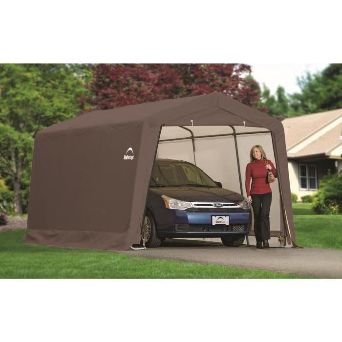 Garage en toile Surface utile : 13,80 m² Cadre en acier de haute