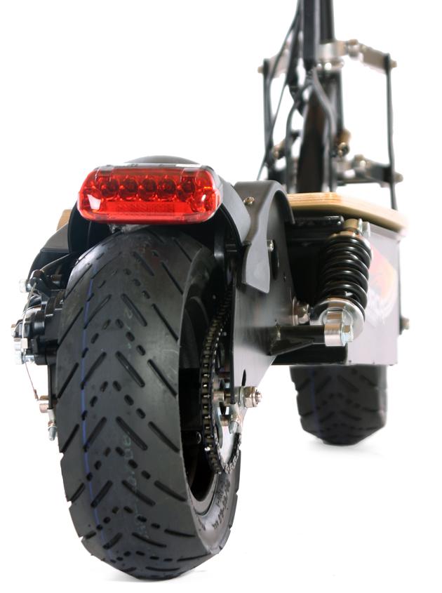 trottinette électrique scooter xl roues escooter 43 km/h.