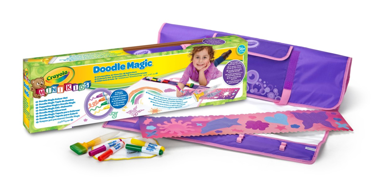 Crayola Doodle Magic 81 1984 e 000 Kit De Loisirs Créatifs