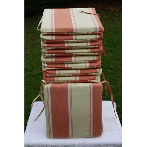 sur » Coussin De Chaise Carré Tissu Dralon » Mobilier de jardin