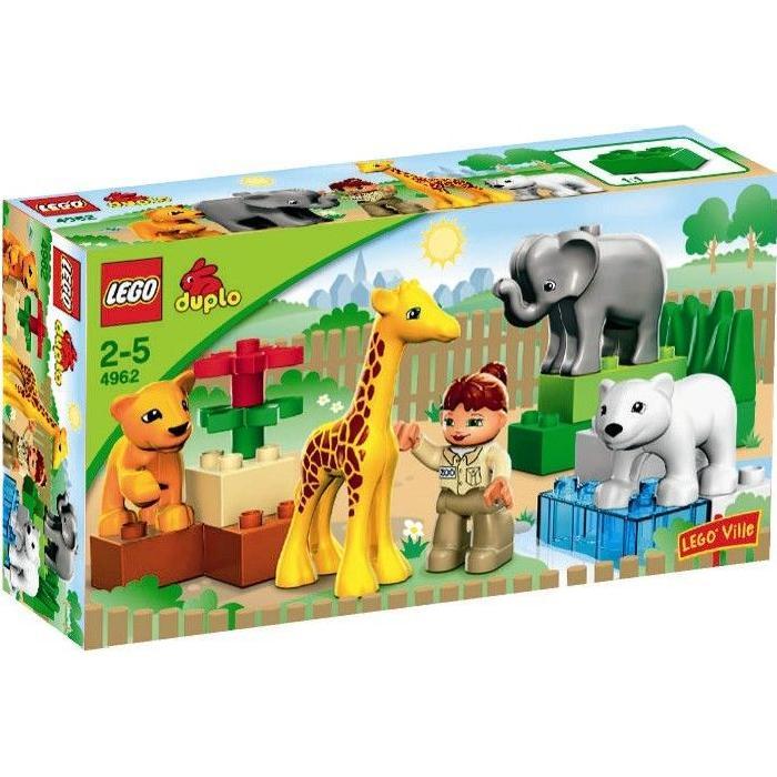 LEGO® DUPLO 4962 Le Zoo des Bébés Animaux Achat / Vente