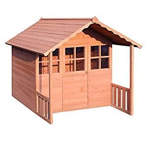 Cabane en bois/maisonnette pour enfants bois: Jeux et
