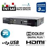 Terminal Numérique Double Tuner Satellite Enregistreur avec disque