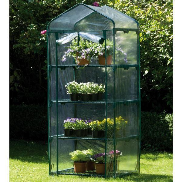 Mini serre 4 niveaux Achat / Vente serre de jardinage Mini serre 4