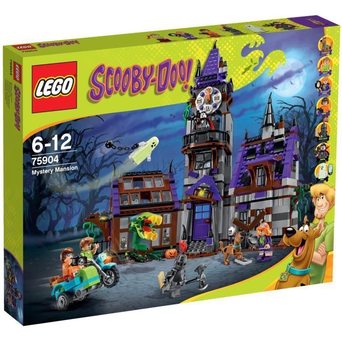 LEGO Scooby Doo 75904 La Maison Mystérieuse Achat / Vente