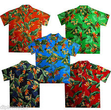 Chemise Hawaïenne Hawaii Parti Géniale Aloha Jungle Club