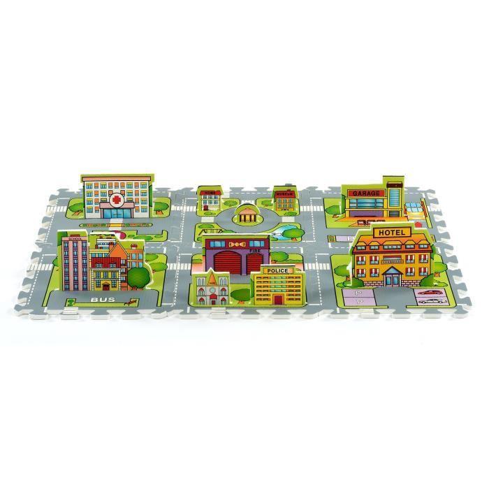 TATAMIZ Tapis Puzzle Circuit 6 dalles Achat / Vente tapis éveil