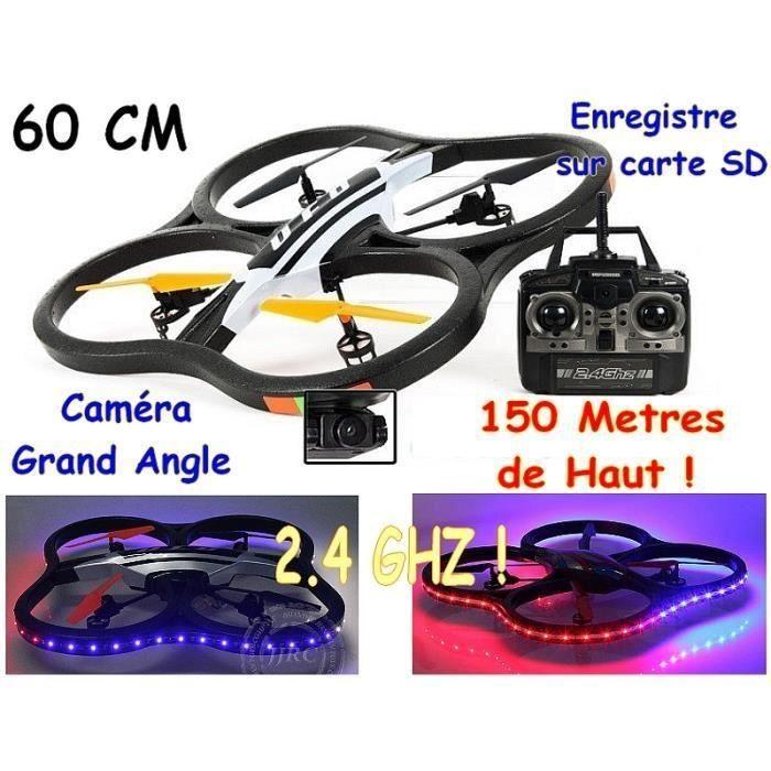 drone Radiocommandé X30VL avec caméra et ledsLe pack contient :1x