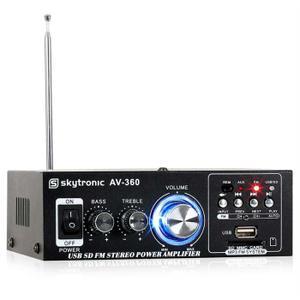 AMPLIFICATEUR HIFI AV 360 ampli HiFi stéréo USB SD MP3 AUX FM