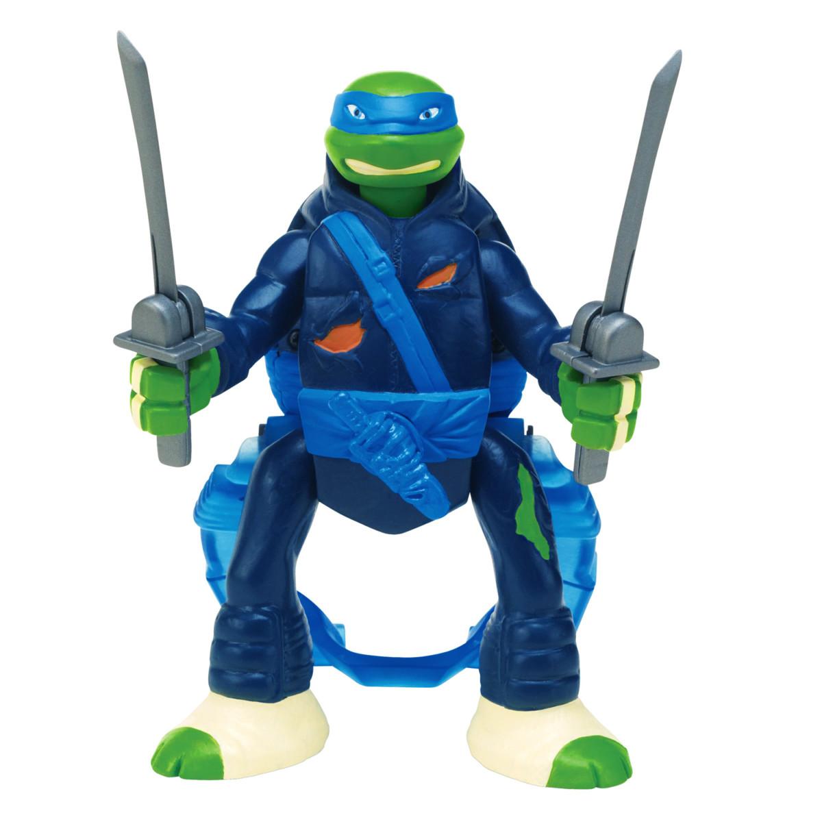 Figurine Tortues Ninja : Saut d'attaque : Leonardo En