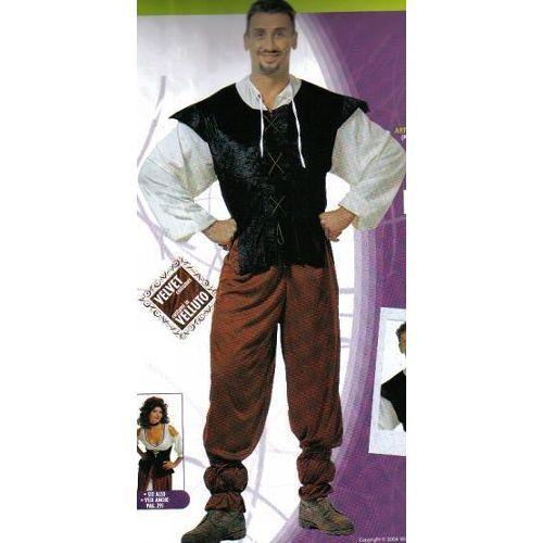 Costume Deguisement Adulte Moyen Age Aubergiste Tenancier Homme