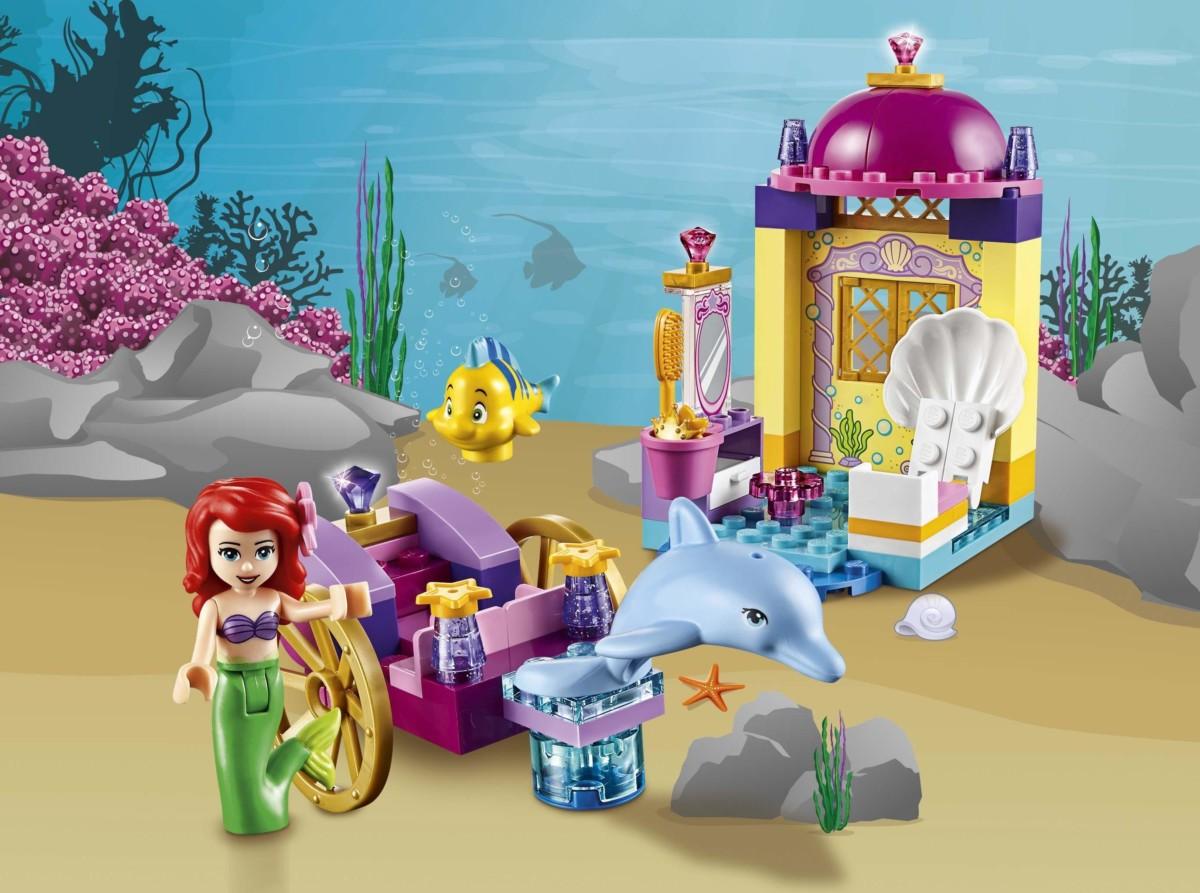 LEGO Juniors Le carrosse dauphin d'Ariel