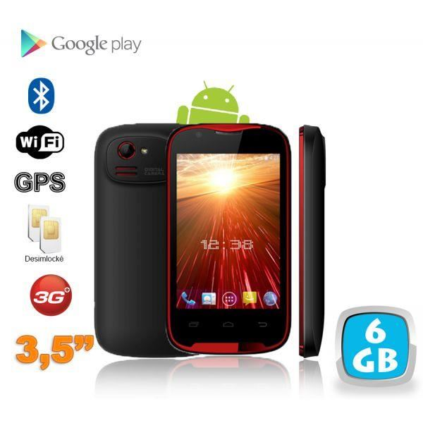 Smartphone Android 3,5 pouces 3G WiFi GPS Dual ? Achat smartphone