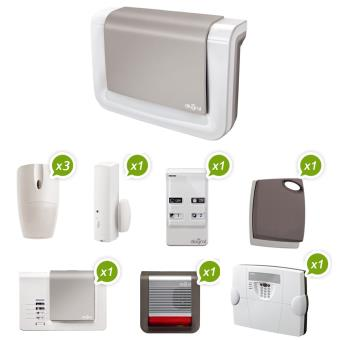 Diagral Alarme sans fil GSM Pack DIAG16ASF Achat & prix | fnac