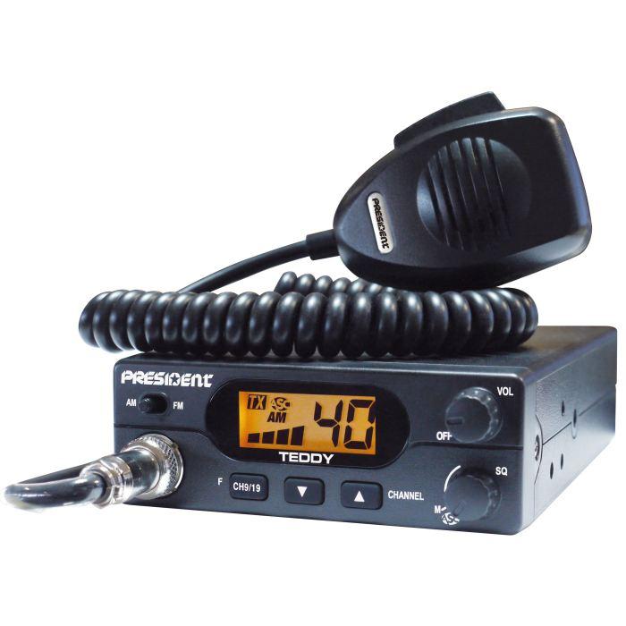 CB PRESIDENT TEDDY ASC 40 canaux AM/FM Achat / Vente radio cb CB