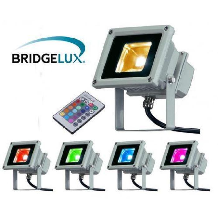 Projecteur LED extérieur 10W RGB Multicolore Projecteur LED