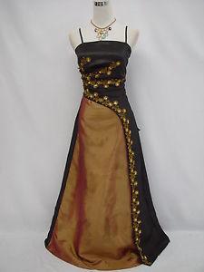 Cherlone satin noir robes de bal de mariage soiree demoiselle d 039