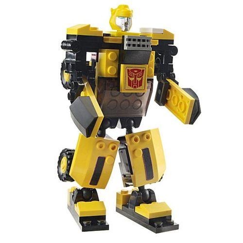 Figurine Transformers Kre O : Robot et véhicule à construire