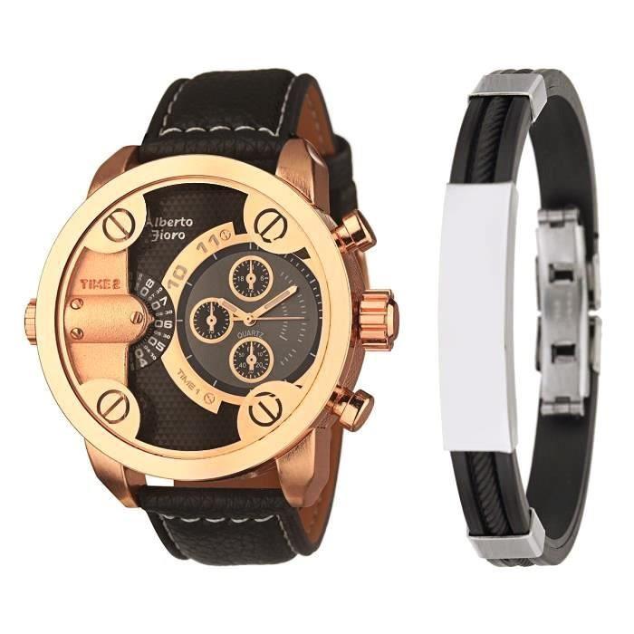 Bracelet Homme Achat / Vente pack montre CELSIOR Parure Homme