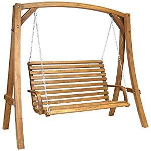 Balancelle de jardin 2 3 places mobilier d'extérieur bois de