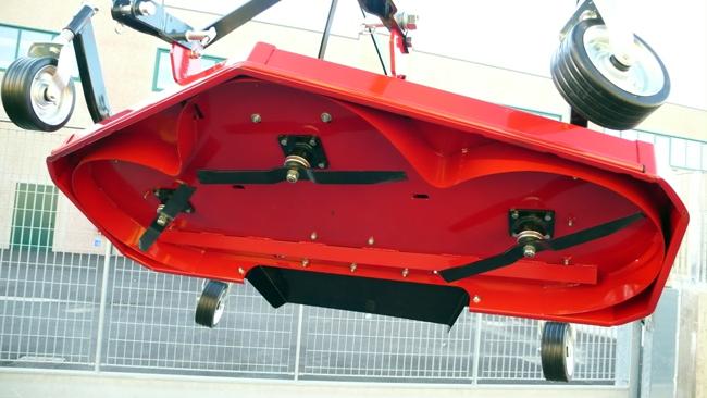 Tondeuse Arrière 180cm Deleks + Cardan , pour Micro tracteur