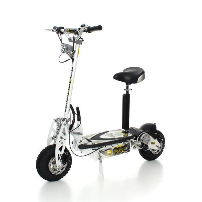 Trottinette électrique style scooter puissante pliante rapide turbo