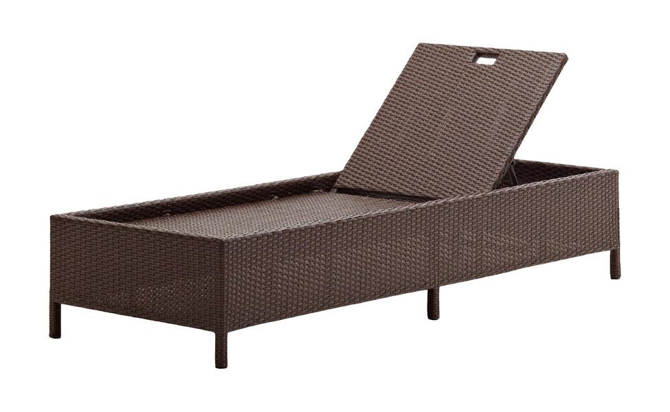 Bain de soleil resine topiwall - Chaise longue resine tressee ...