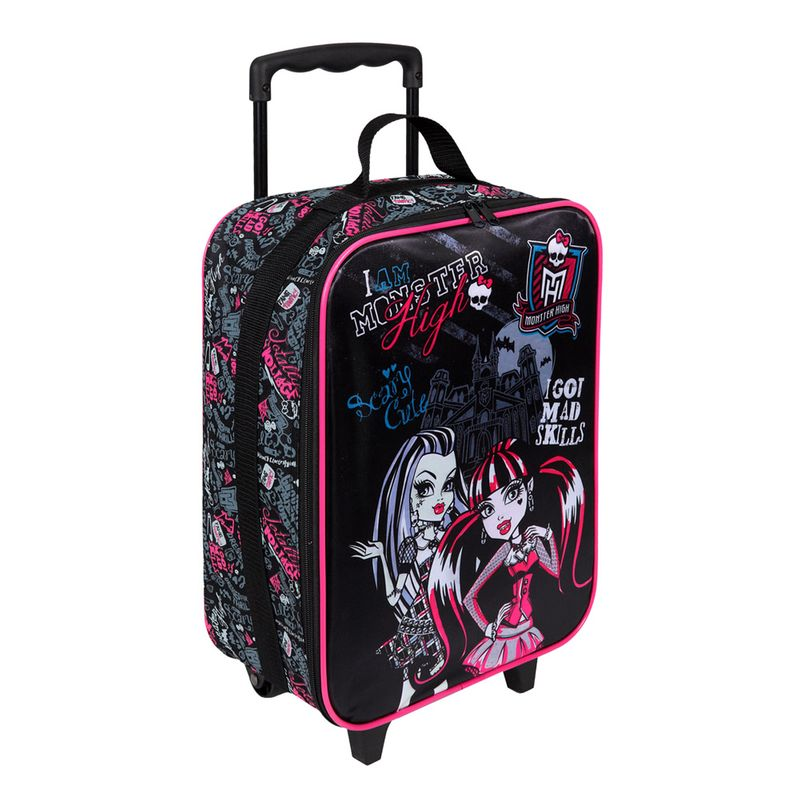 Monster high cartable à roulettes i am Undercover