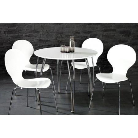 table ronde 90 cm diametre topiwall. Black Bedroom Furniture Sets. Home Design Ideas