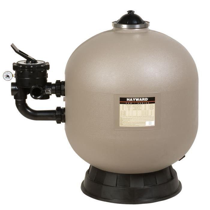 Filtre à sable Pro Side 22 m³/h Taupe HAYWARD Achat / Vente pompe