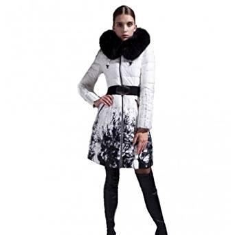Manteau Doudoune Femme DUCK, Doudoune plume lonque, Veste à capuche