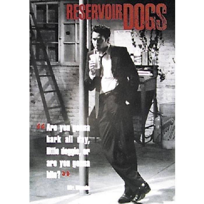 POSTER RESERVOIR DOGS Achat / Vente affiche