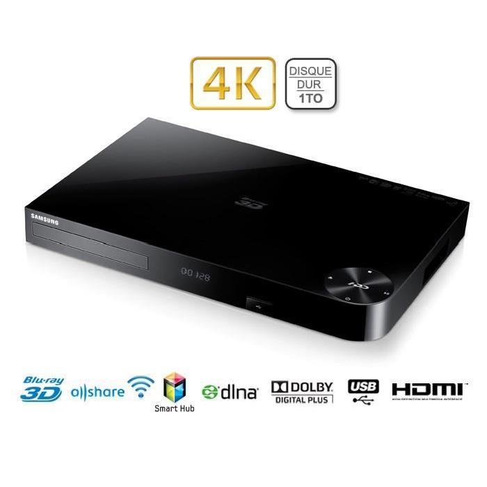 SAMSUNG BD H8900 Lecteur Blu ray 3D 4K Enregistreur Achat / Vente