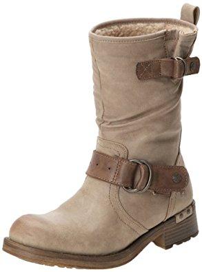 Mustang 1138606, Boots femme Beige (Taupe), 37 EU
