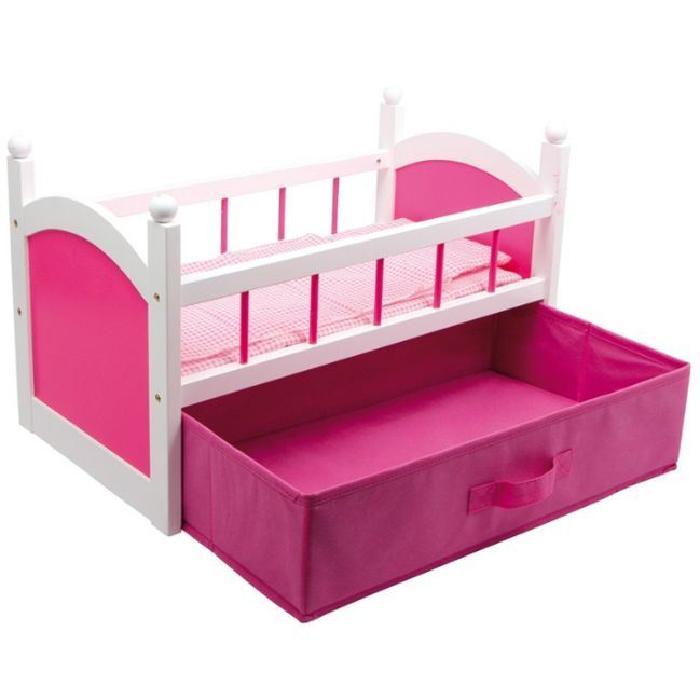 Lit de poupée Rosy avec tiroir Achat / Vente maison poupée