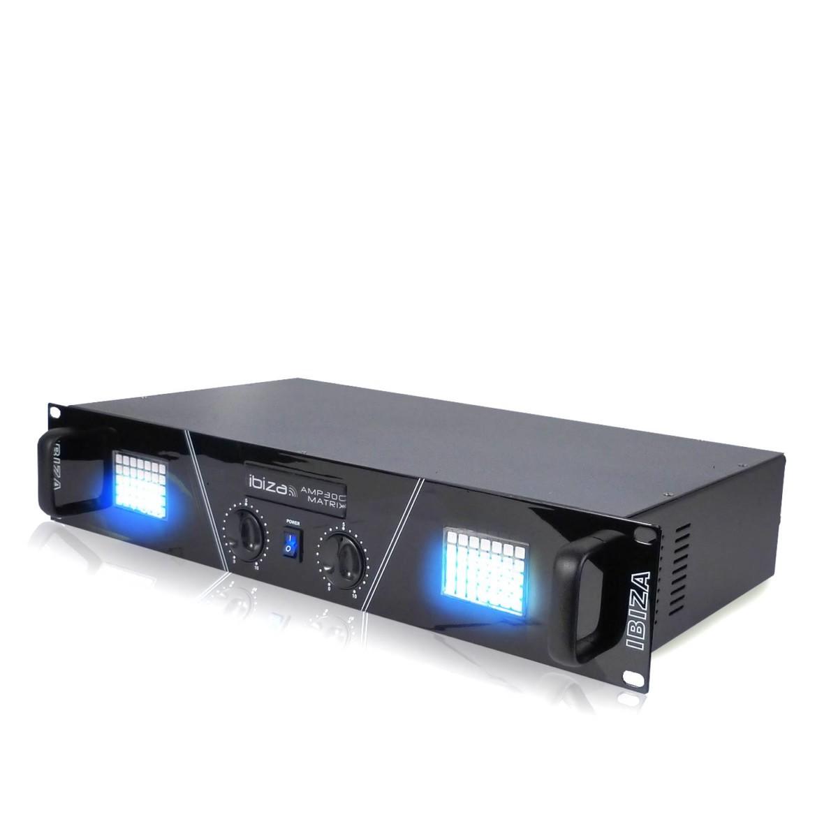 Ampli SONO 2 x 240W AFFICHEUR MATRICIEL A LED