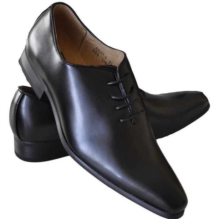 Chaussures homme à lacets, coupe Noir Achat / Vente richelieu